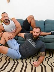 Brunette hot oral sex