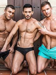 Viktor Rom, Andrey Vic, Oliver Hunt - Gay Porn Pics Galleries