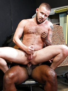 Bald gay jerking off porn